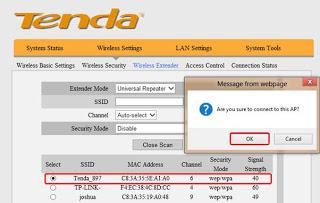 برمجة واعداد أكسس بوينت Tenda A30