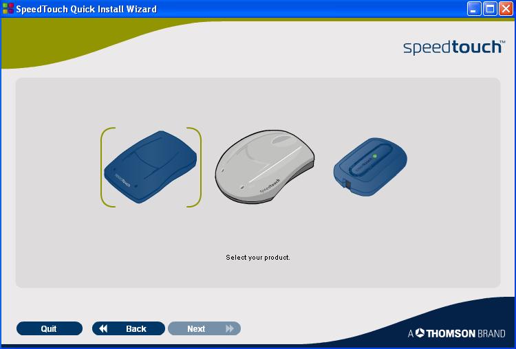 شرح أعدادت مودم Speedtouch USB 330