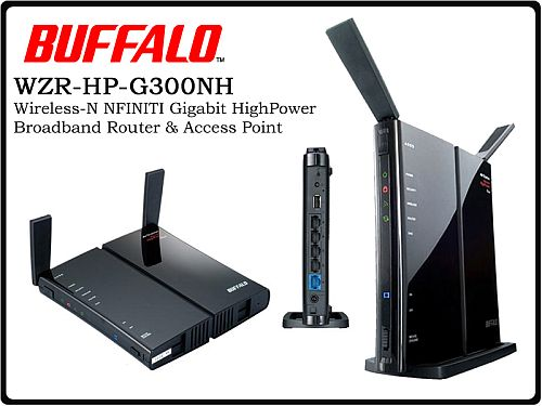 ضبط اعدادات Access Point Buffalo WZR-HP-G300NH
